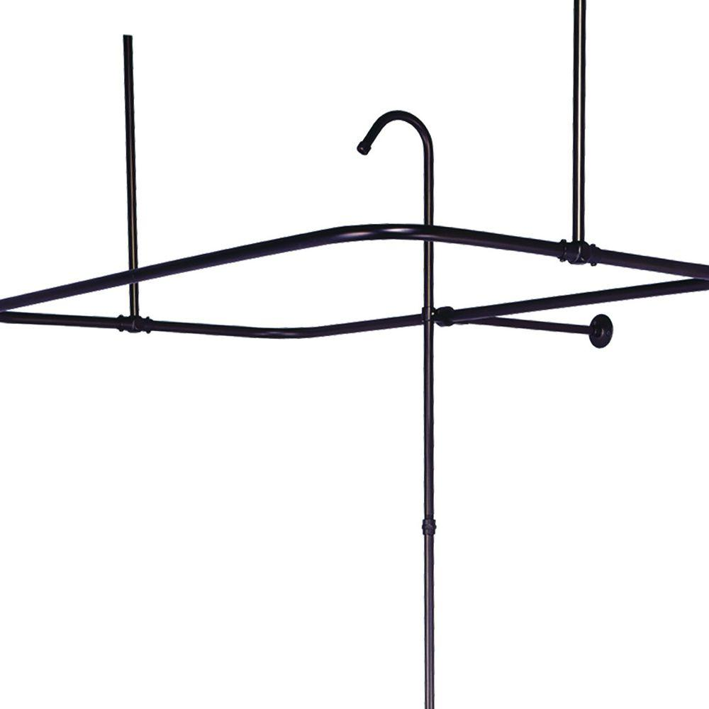 UPC 644214009697 Product Image For Elizabethan Classics Shower Curtain Rods 43 In X 23