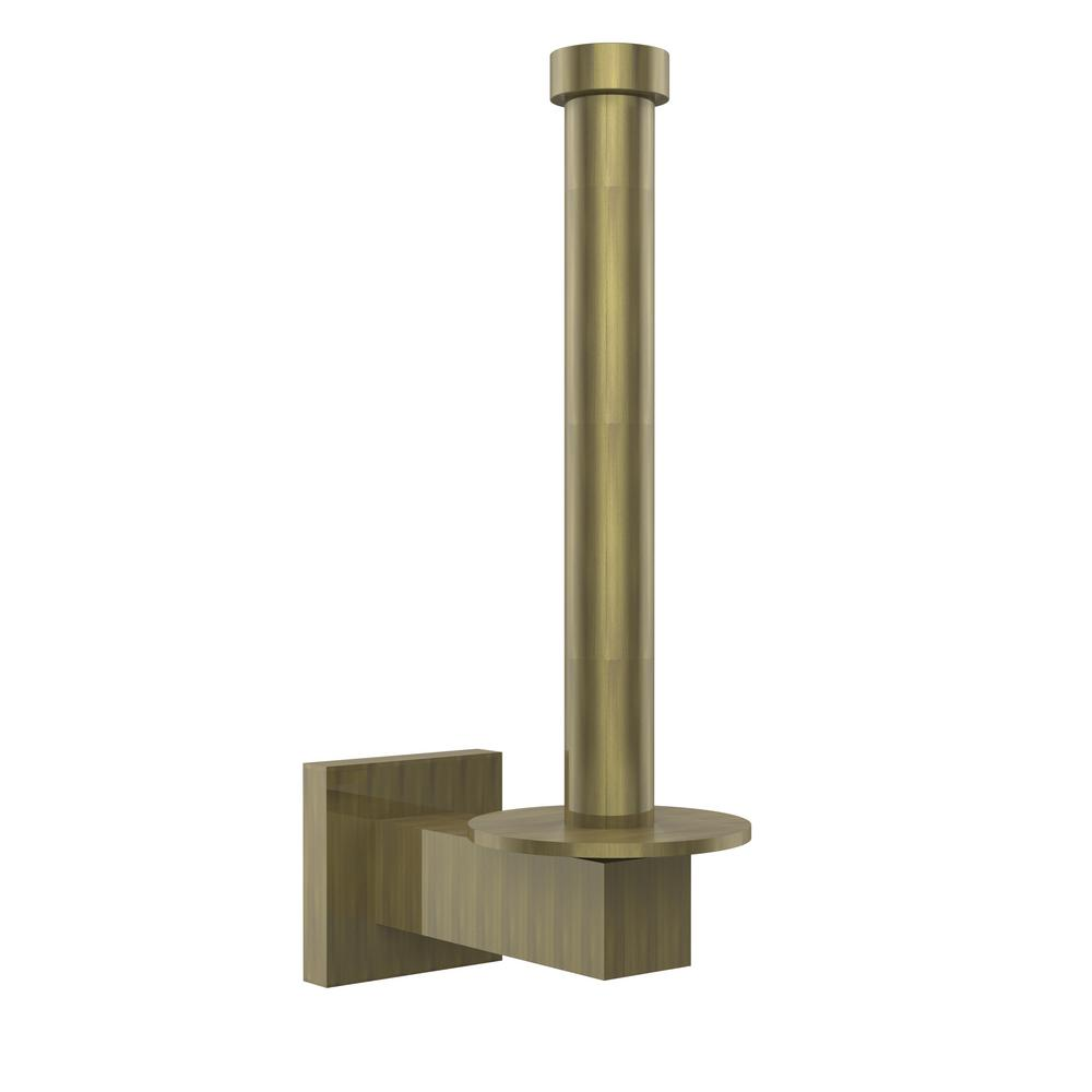 Allied Brass Montero Collection Upright Single Post Toilet Paper