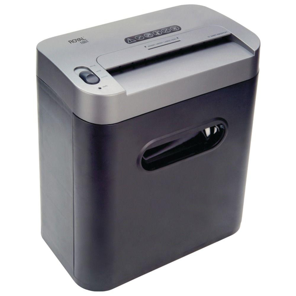 100x 10-Sheet Crosscut Home/Office Shredder