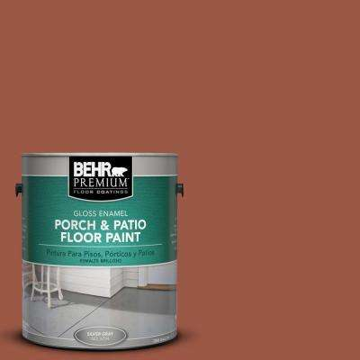 1 gal. #PFC-15 Santa Fe Gloss Interior/Exterior Porch and Patio Floor Paint