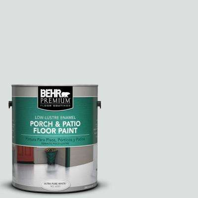 1 gal. #720E-1 Reflecting Pool Low-Lustre Interior/Exterior Porch and Patio Floor Paint