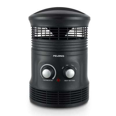 1,500-Watt Electric Portable Fan Heater