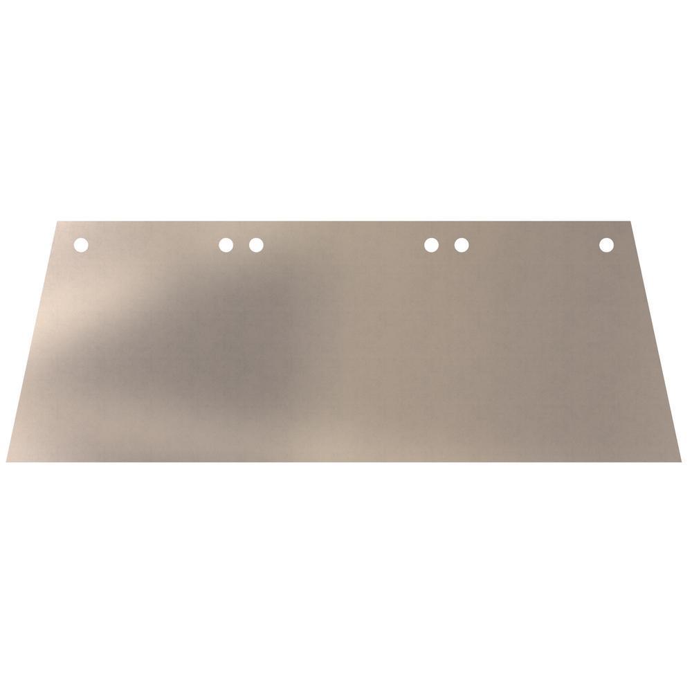 18 in. Steel Angle Cut Replacement Floor Scraper Blade