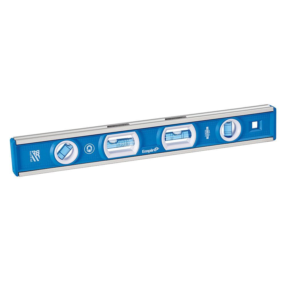 level empire tool box magnetic true em81 pitch levels tools depot 1000