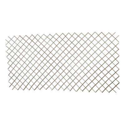 72 in. L x 24 in. H Willow Expandable Trellis Fence Set