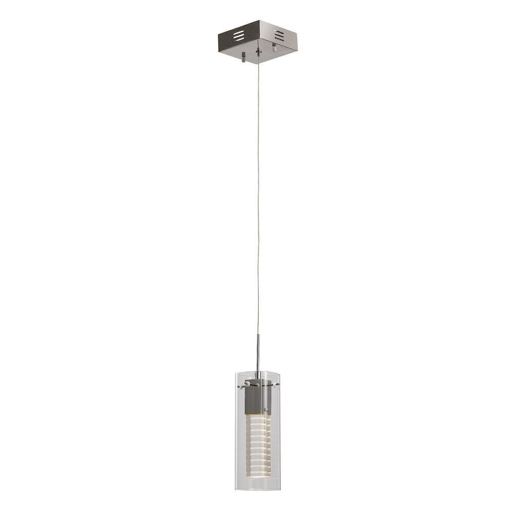 Jazz 3-Watt Polished Chrome Integrated LED Pendant