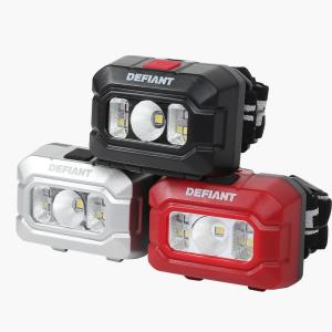 Deals on Defiant 100 Lumens LED Headlight Combo 3-Pack