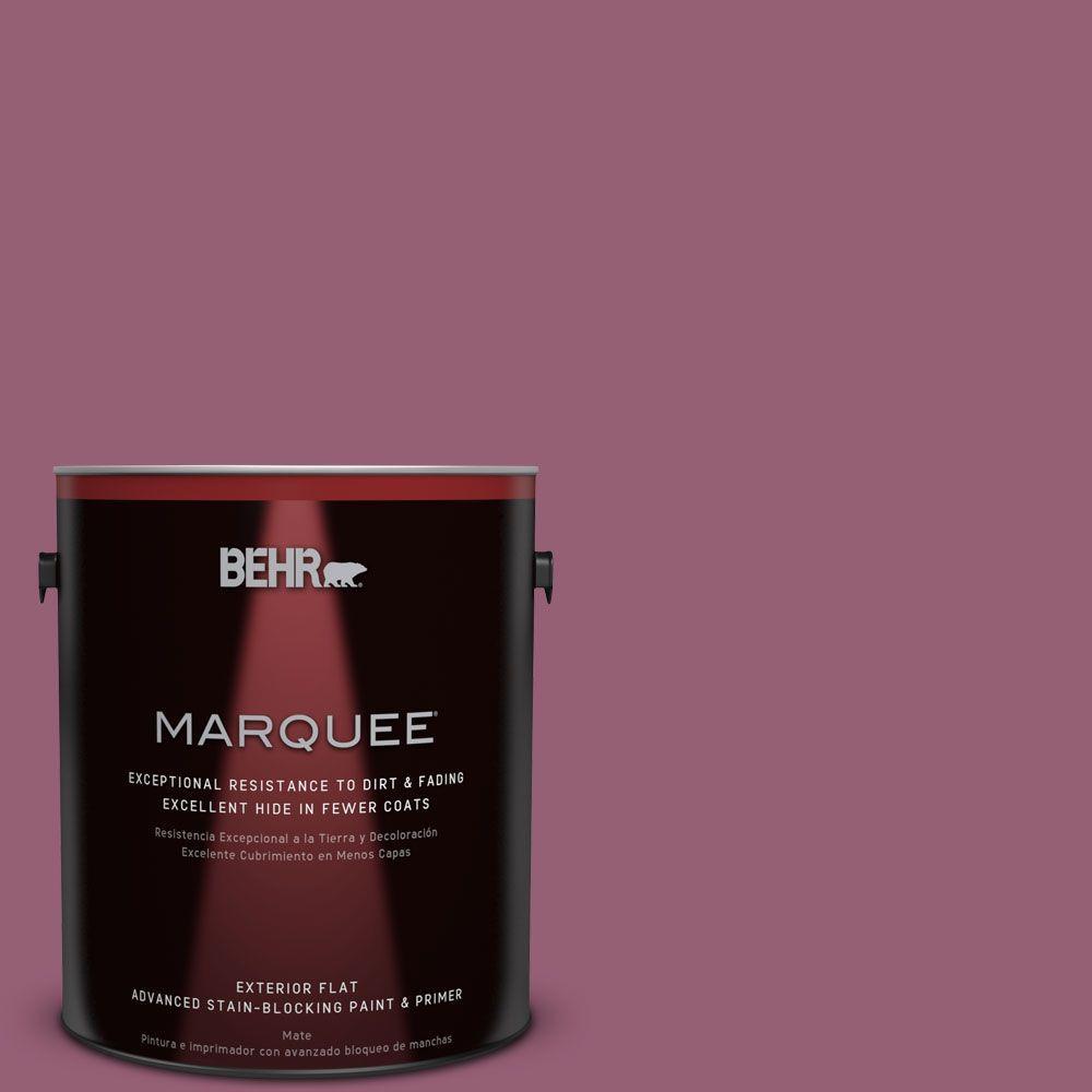 1-gal. #MQ1-3 Glitz and Glamour Flat Exterior Paint