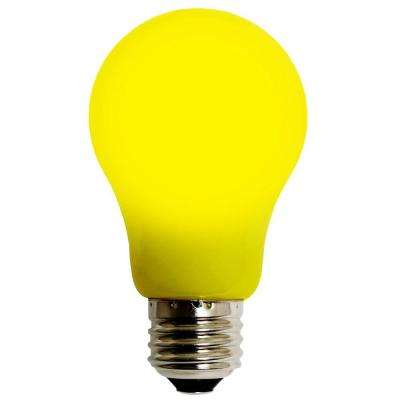 4W Equivalent Yellow A15 EVO360 LED Light Bulb 55D