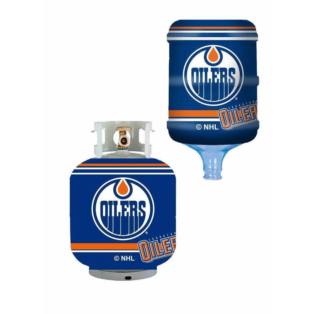 Edmonton Oilers Propane Tank Cover/5 Gal. Water Cooler Cover