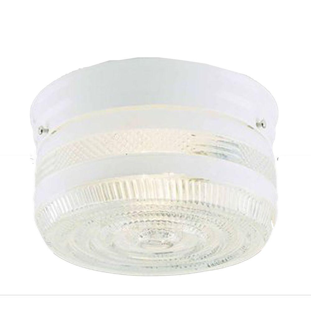 Filament Design Lenor 2-Light Ceiling Polished Brass Incandescent Flush Mount