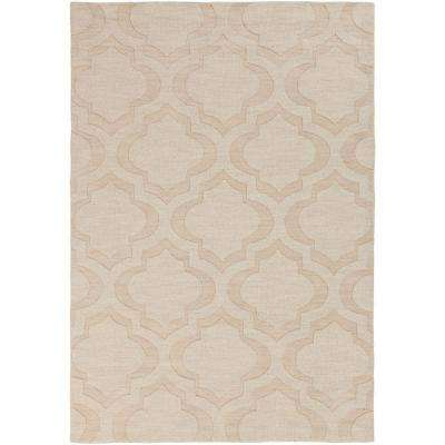 Central Park Kate Beige 10 ft. x 14 ft. Indoor Area Rug