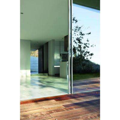 Reflective Screen Foil 26 in. x 59 in. Home Decor Premium Static Cling Window Film
