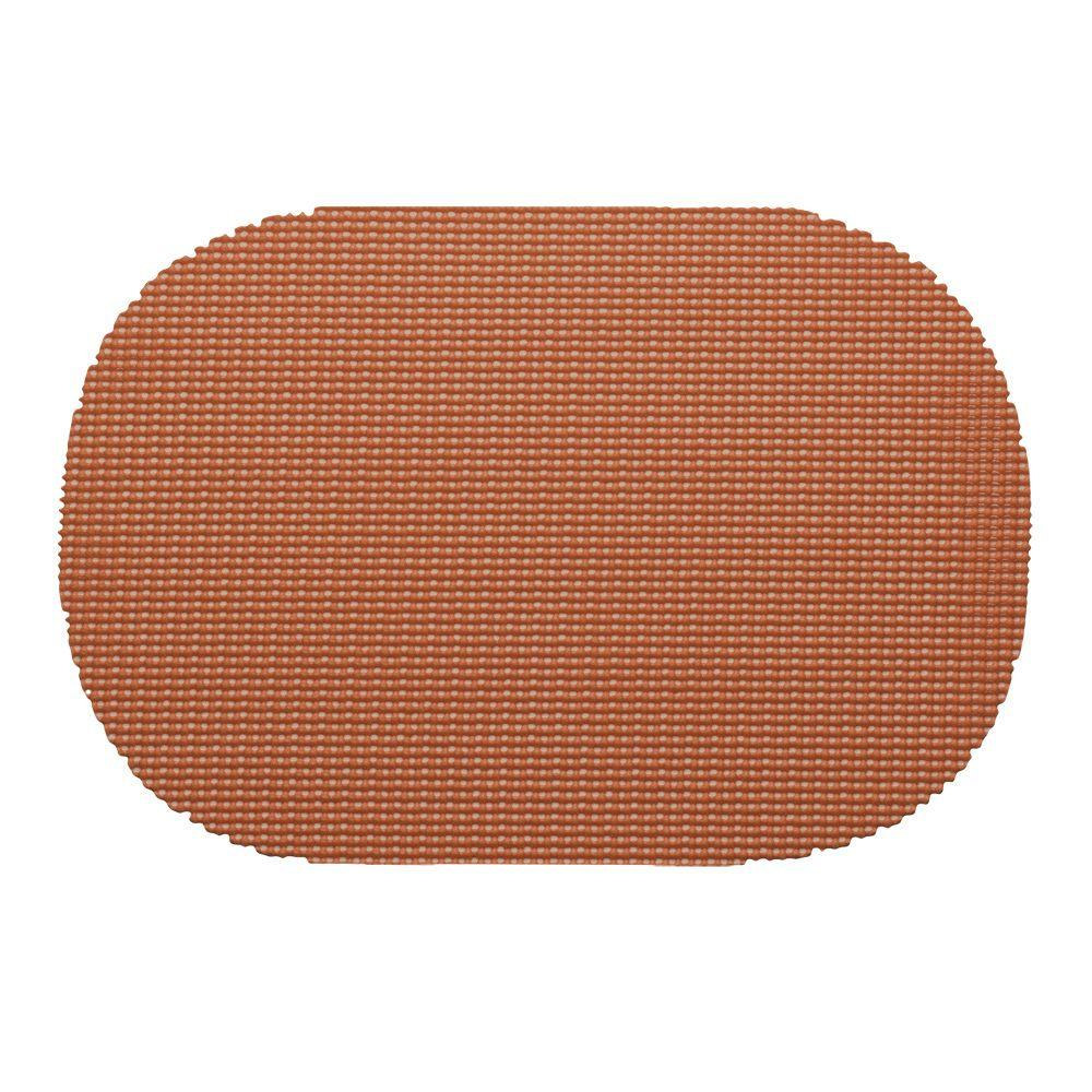 Kraftware Fishnet Oval Placemat in Bronze (Set of 12)