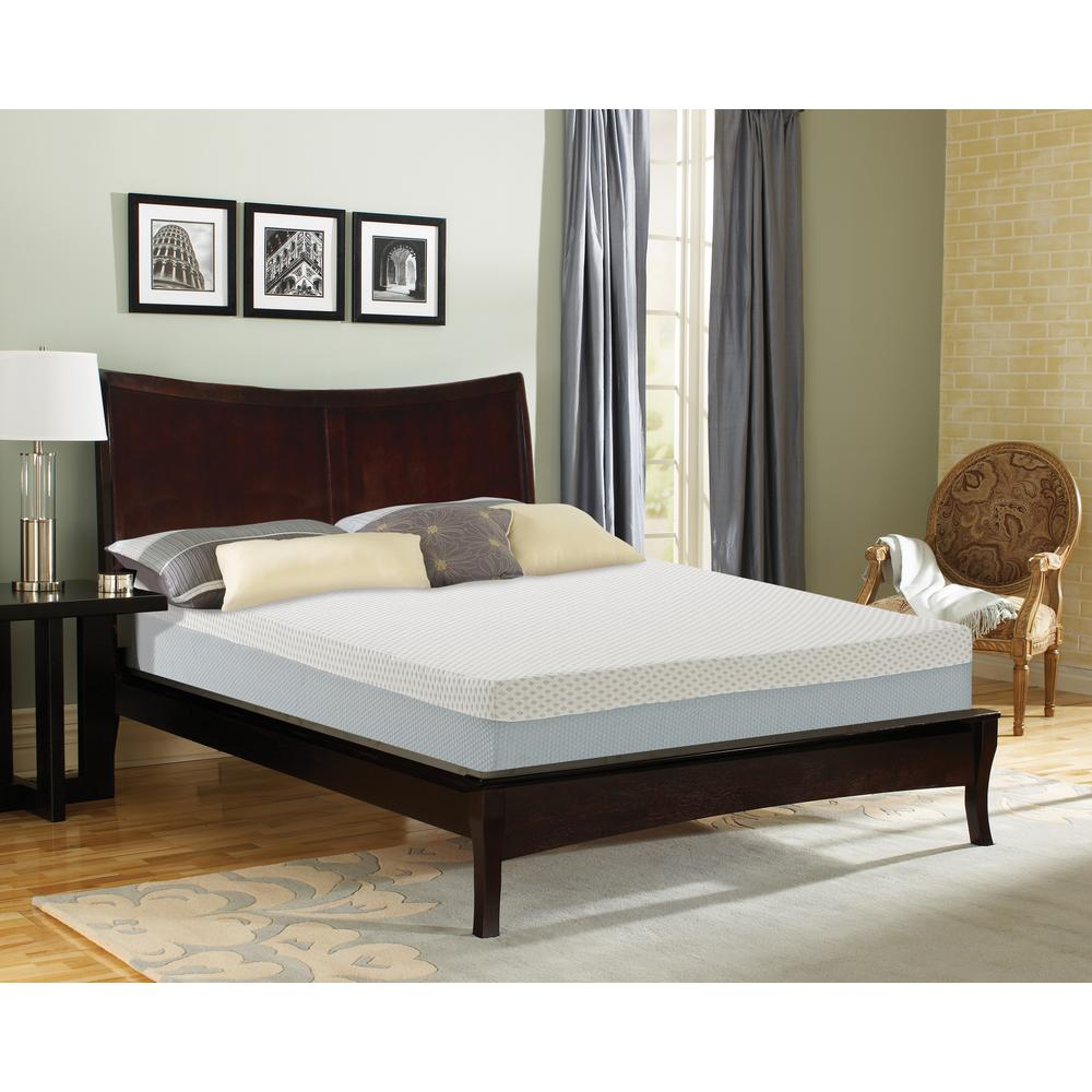 Stay Cool King Medium Memory Foam Mattress
