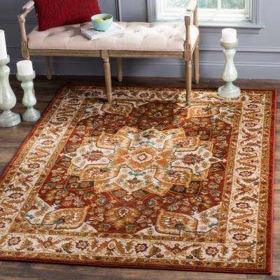 Summit Red Ivory 6 Ft 7 In X 9 2