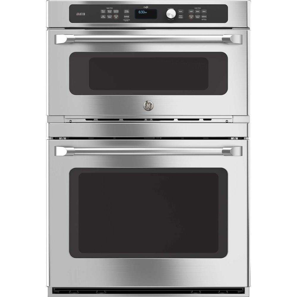 Double Wall Ovens ~ Ge in double electric wall oven self cleaning lower