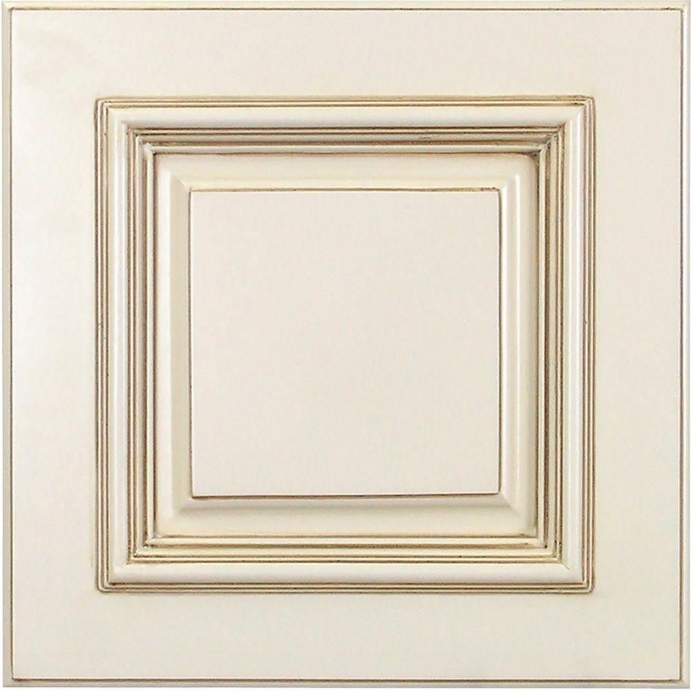 home decorators collection 13x13 in cabinet door sample in holden bronze the home depot