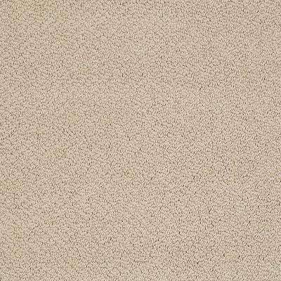 Carpet Sample - Out of Sight III - Color Soft Sun Texture 8 in. x 8 in.