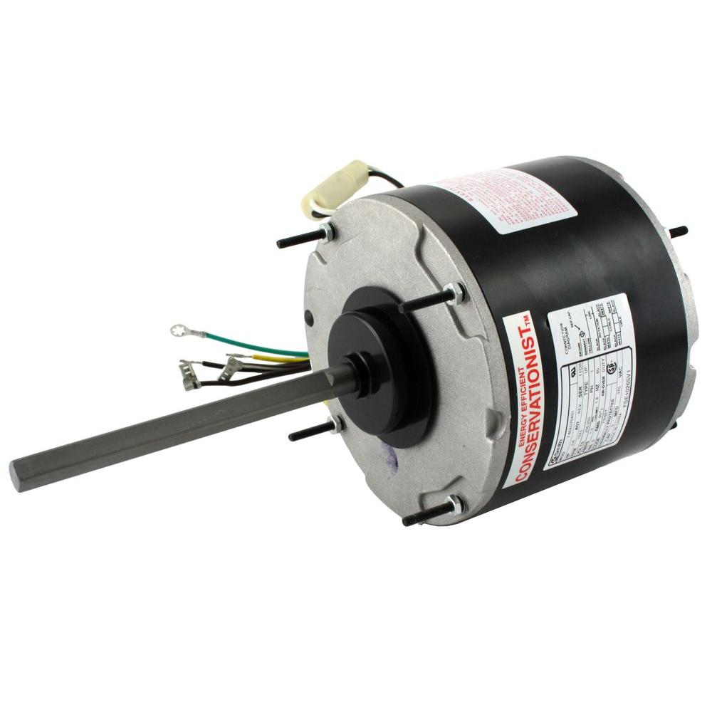 Century 1 3 Hp Condenser Fan Motor Fse1036sv1 The Home Depot Capacitor Wiring Diagram As Well Phase Power