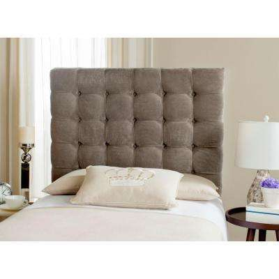 Lamar Greige Twin Headboard