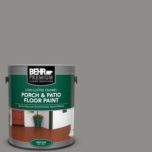 1 gal. #PFC-69 Fresh Cement Low-Lustre Enamel Interior/Exterior Porch and Patio Floor Paint