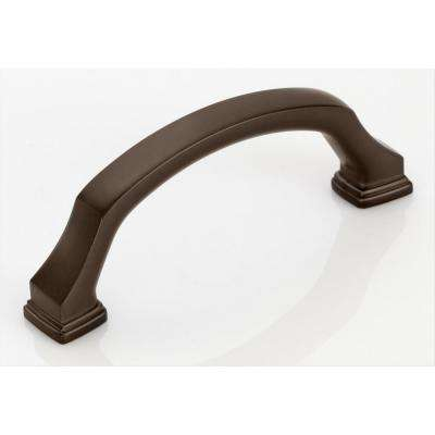 Revitalize 3 in. (76 mm) Center to Center Caramel Bronze Cabinet Pull