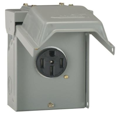 50 Amp Temporary RV Power Outlet