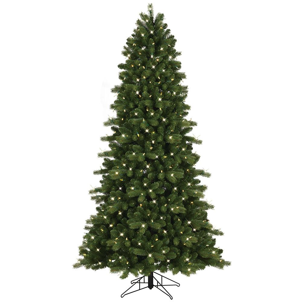 ez light just cut colorado spruce artificial christmas tree