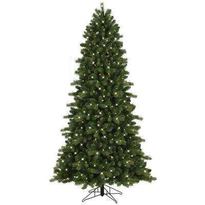 artificial christmas trees christmas trees the home depot - Pre Decorated Christmas Trees