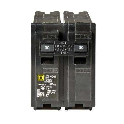 Homeline 30 Amp 2-Pole Circuit Breaker