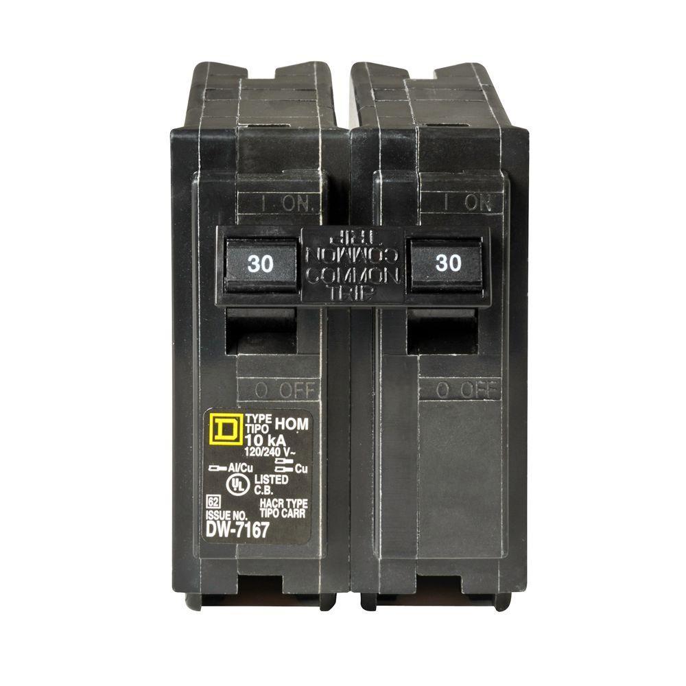 Homeline 30 Amp 2-Pole Circuit Breaker