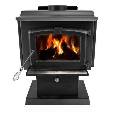 1,200 sq. ft. EPA Certified Wood-Burning Stove with Small Blower