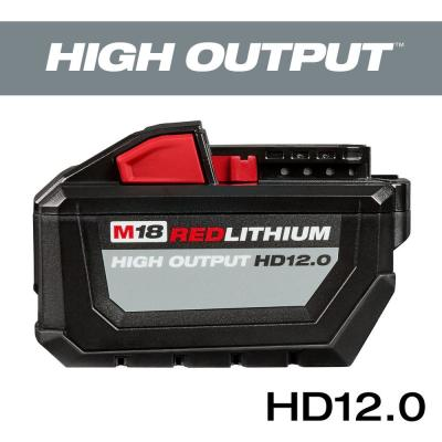 M18 18-Volt Lithium-Ion High Output 12.0Ah Battery Pack