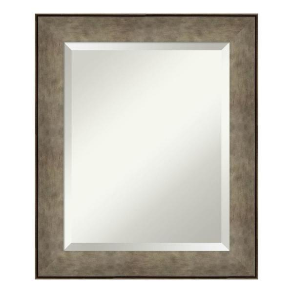 Amanti Art Pounded Metal Decorative Wall Mirror Dsw4093799 The Home Depot