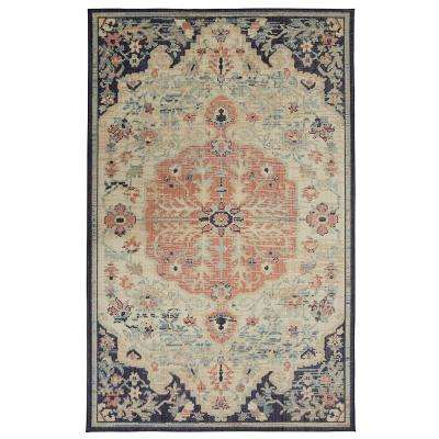 Tamur Aqua 8 ft. x 10 ft. Area Rug
