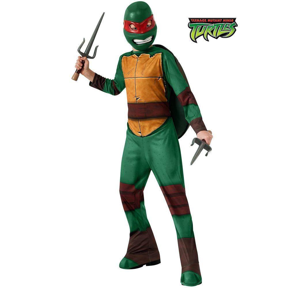 Rubieu0027s Costumes Raphael Teenage Mutant Ninja Turtle Tmnt Costume  sc 1 st  Home Depot & Rubieu0027s Costumes Raphael Teenage Mutant Ninja Turtle Tmnt Costume ...
