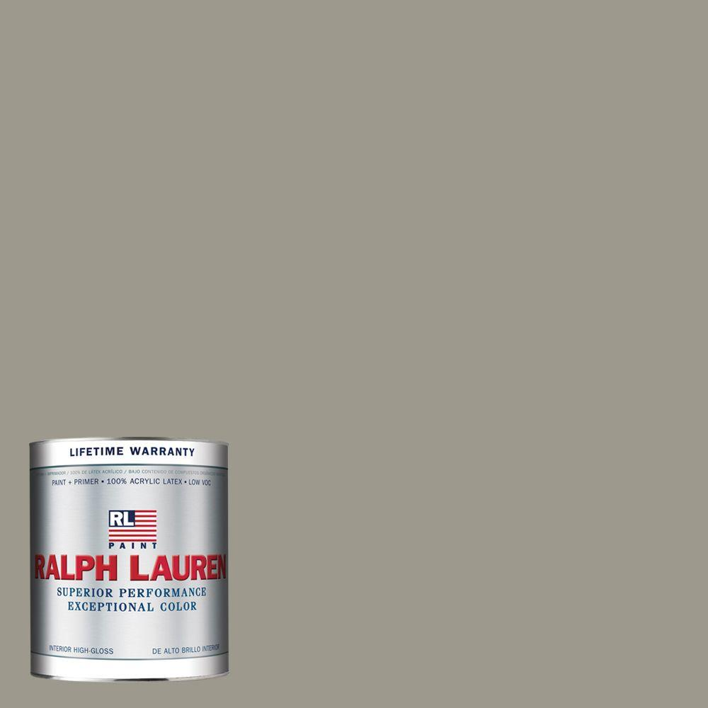 Ralph Lauren 1-qt. Wave Gray Hi-Gloss Interior Paint