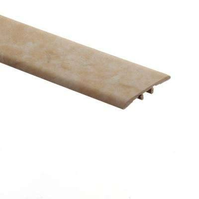 Carrara Tan 5/16 in. Thick x 1-3/4 in. Wide x 72 in. Length Vinyl T-Molding