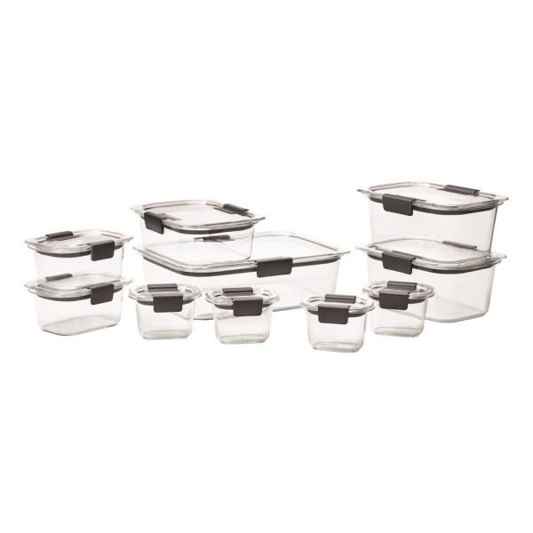 Brilliance 20-Piece Food Storage Container Set