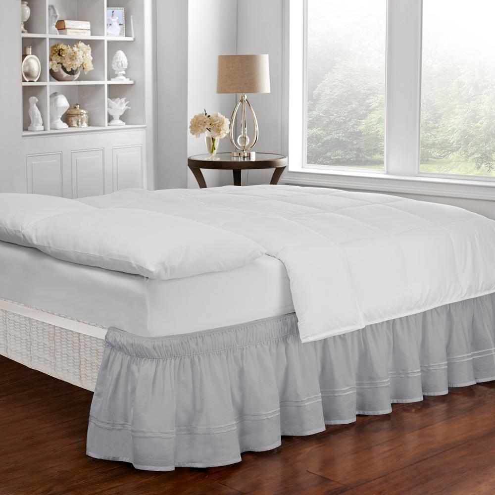 Baratta Gray Queen/King Bed Skirt