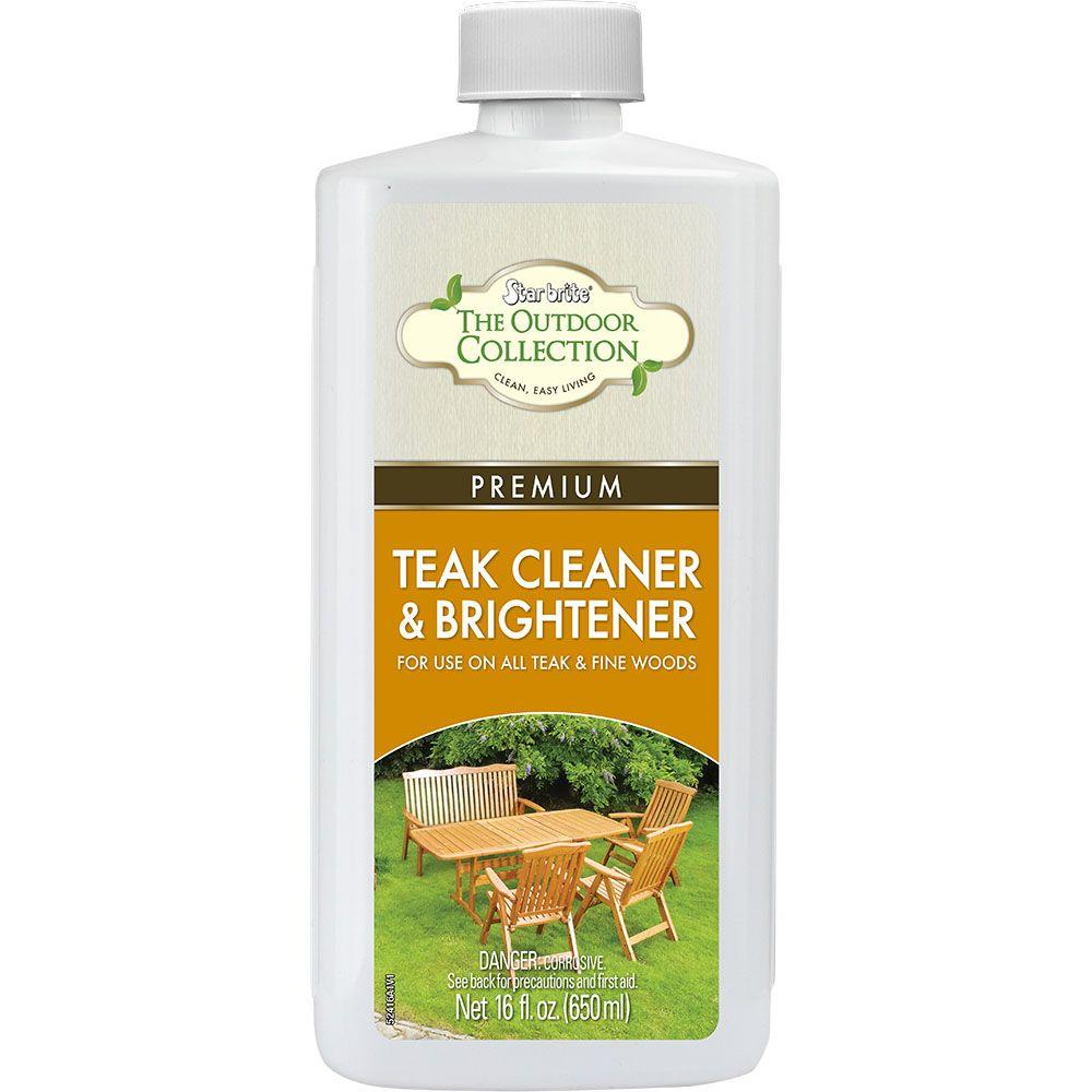 Star Brite 16 Oz Premium Teak Cleaner And Brightener