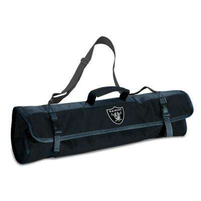 Oakland Raiders 3-Piece BBQ Tote