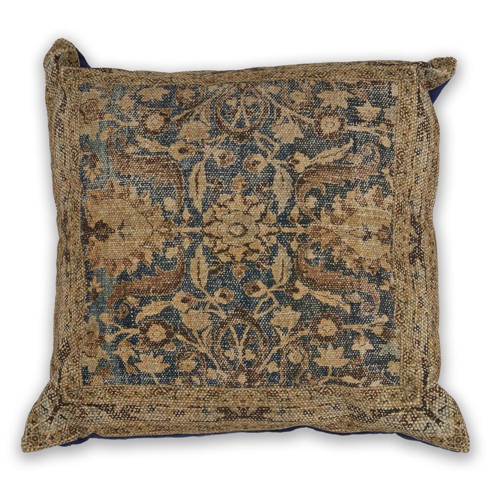 Denim Rania 18 in. x 18 in. Decorative Pillow