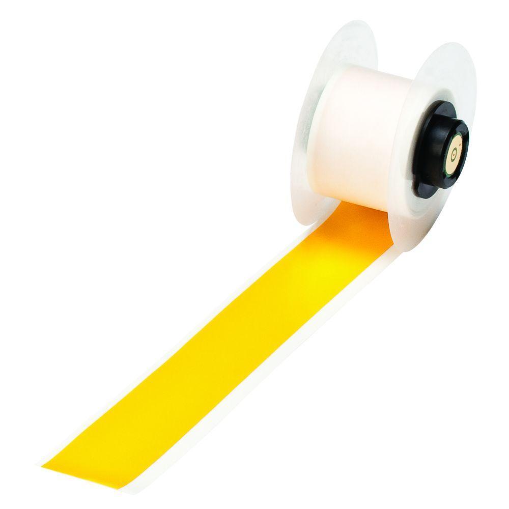 Brady Handimark 50 ft. x 1 in. Indoor/Outdoor Vinyl Yellow Tape