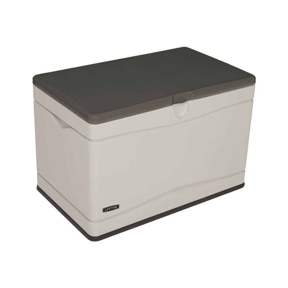Lifetime 80 Gal. Polyethylene Outdoor Deck Box