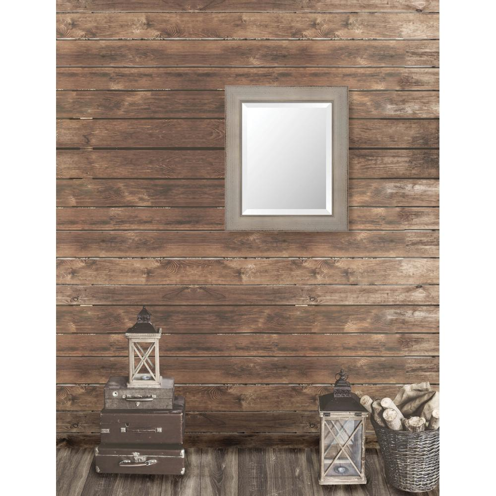 Pinnacle 21.625 in. x 25.625 in. French Antique Framed Be...