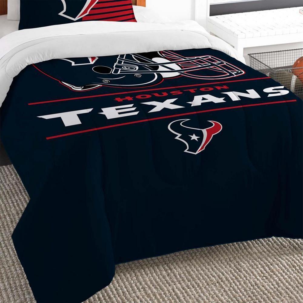 Piece Draft Multi Twin Comforter Set, Houston Texans Bedding Queen