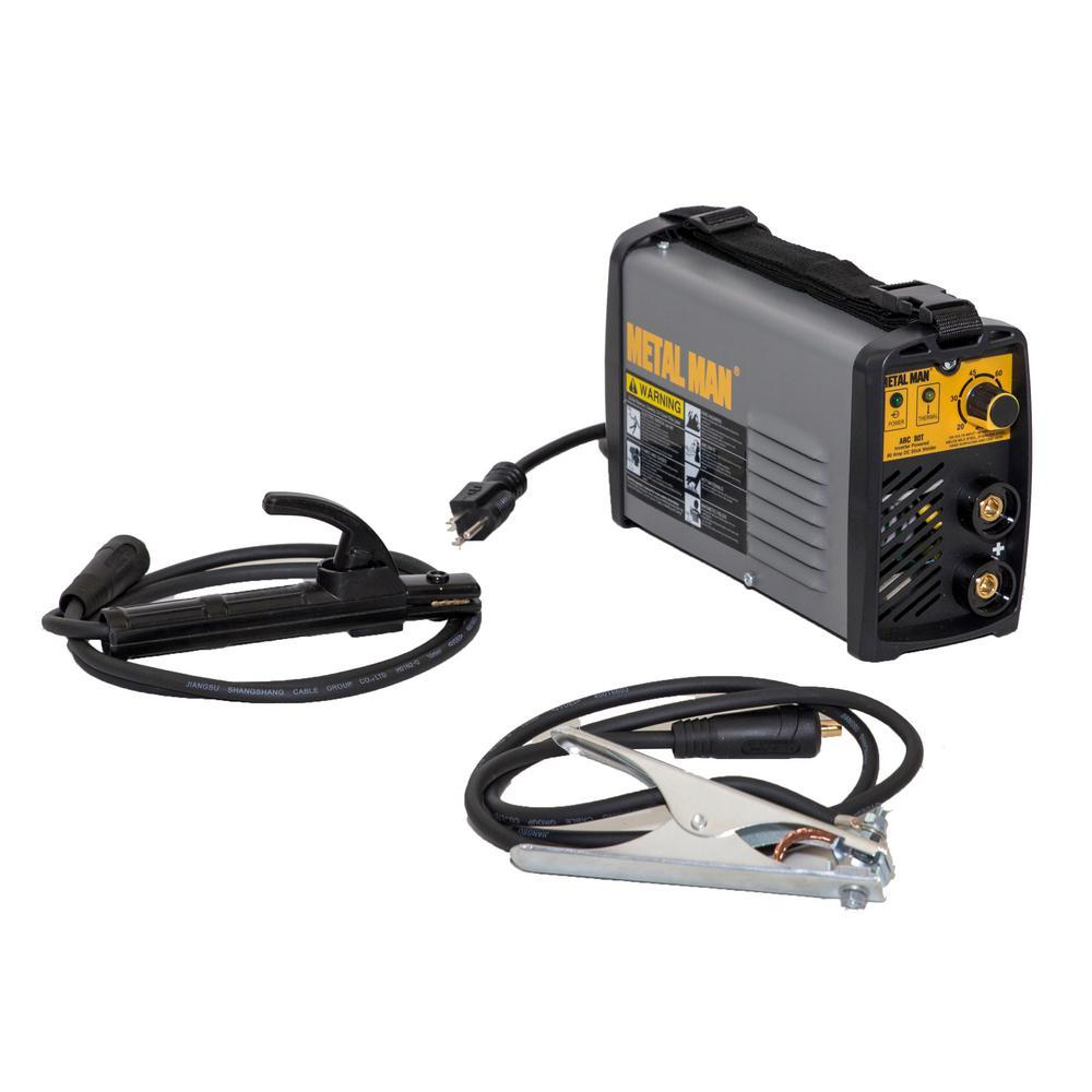 METAL MAN 80 Amp. DC Output, 120-Volt Input Power Inverter DC Stick Welder