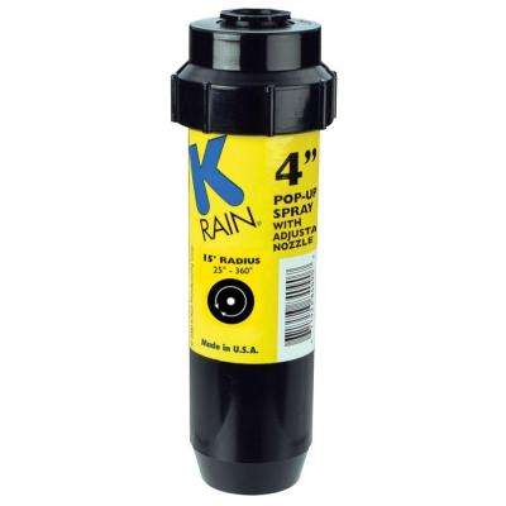 4 in. KSpray Pop-Up Sprinkler with Adjustable Pattern Nozzle